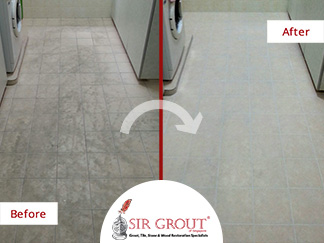 An HDB Flat in Jurong West Was Damaged by Acidic Cleaners. See How a Grout Cleaning Fixed It!