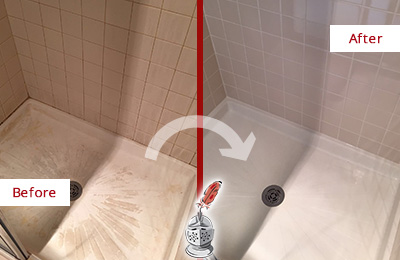 how to clean and seal grout in shower